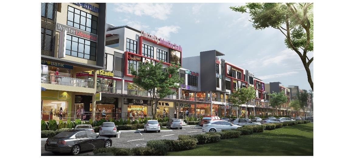 Newly launched Oakland Commercial Center - Phase 4F offers exciting new opportunity for SMEs, franchises and business owners in Seremban