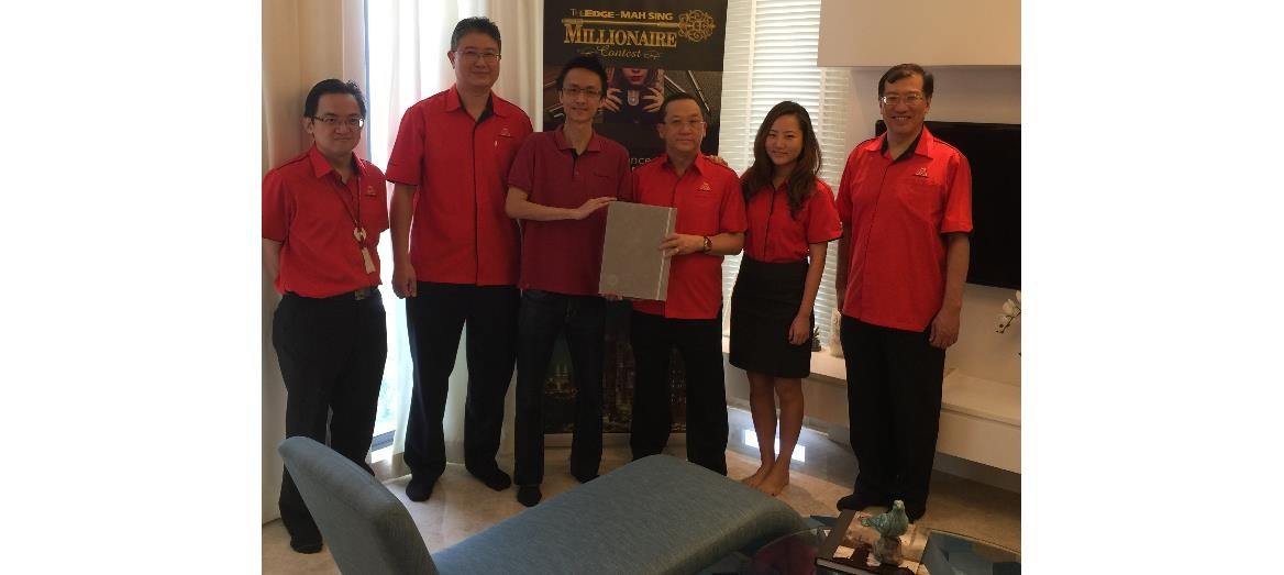 Mah Sing's Millionaire Contest winner selects Icon Residence at Mont Kiara