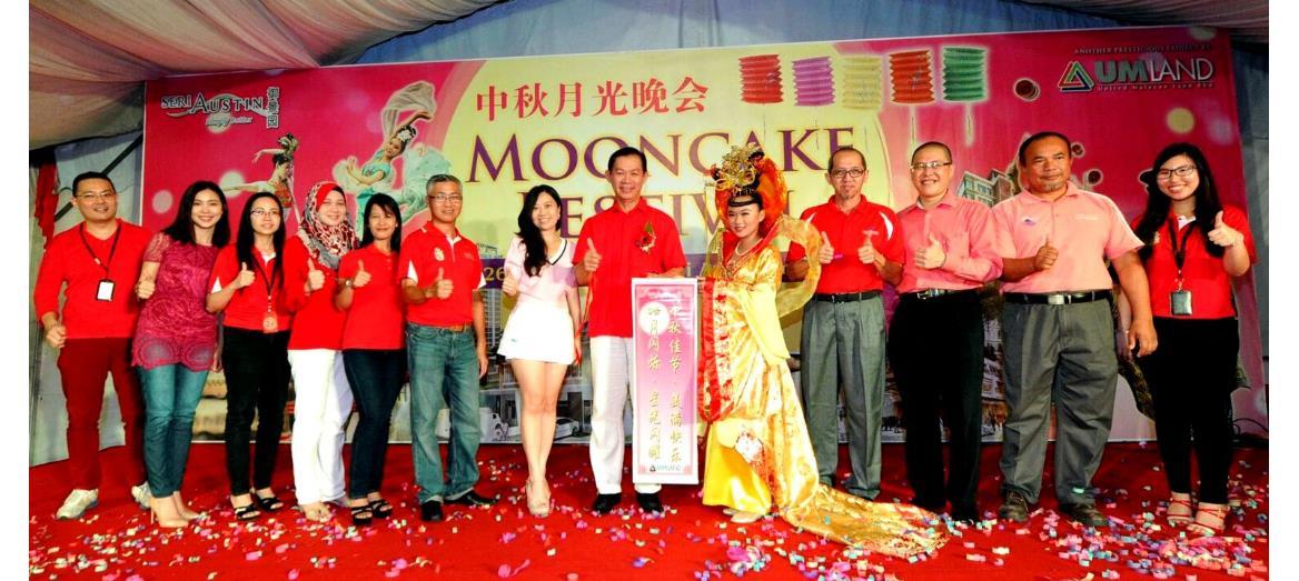 UMLand Seri Austin celebrates Mooncake Festival 2015