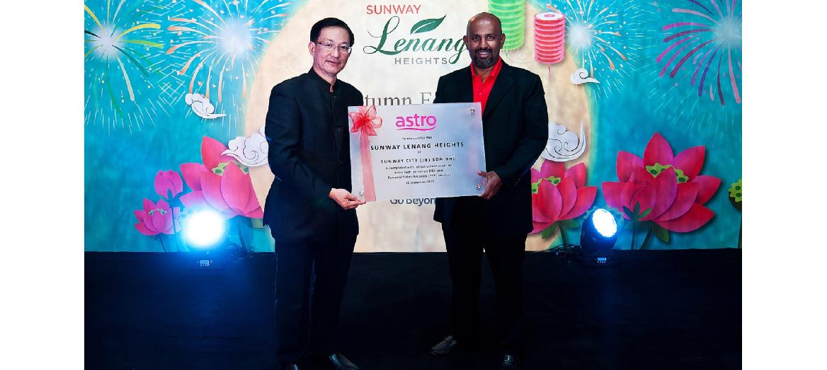 Sunway Lenang Heights celebrates Mid-Autumn Festival with bungalow show unit launch