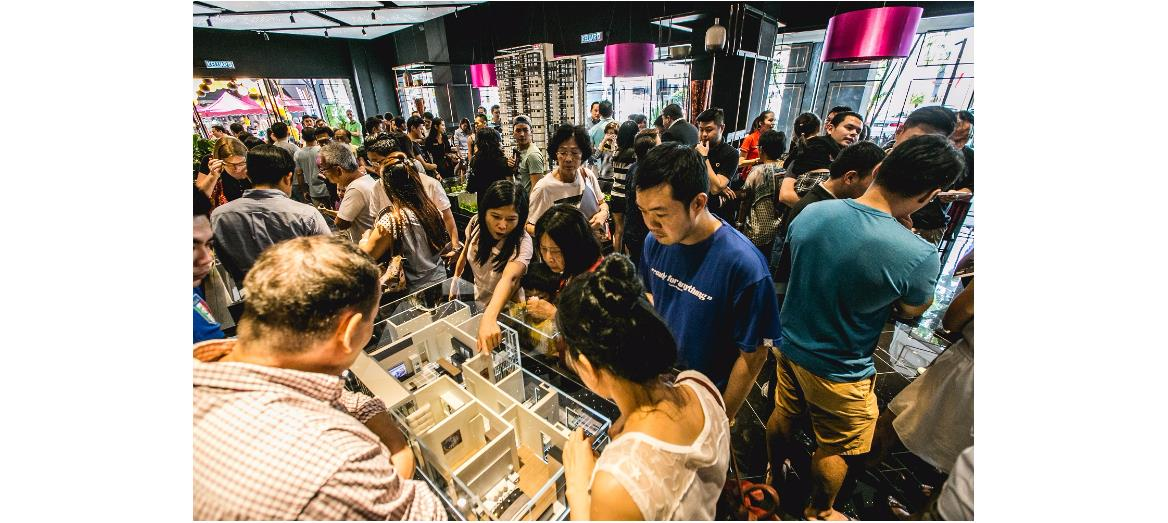 Crowds throng Sunway Mont Residences Sales Gallery ahead of launch