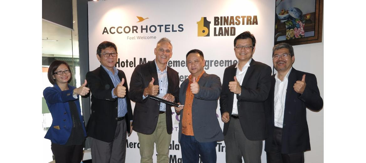 Binastra Land Sdn Bhd inks hotel management agreement  with AccorHotels