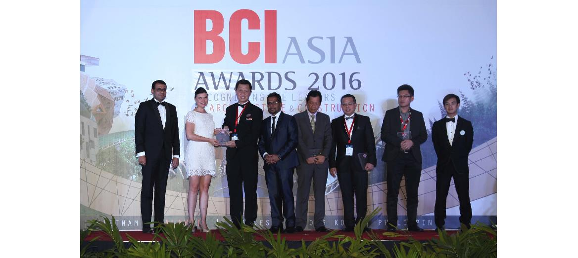 S P Setia named as one of the Top 10 Developers in Malaysia at the BCI Asia Awards 2016