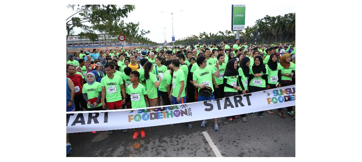 Thousands throng Foodiethon event in Sunsuria City