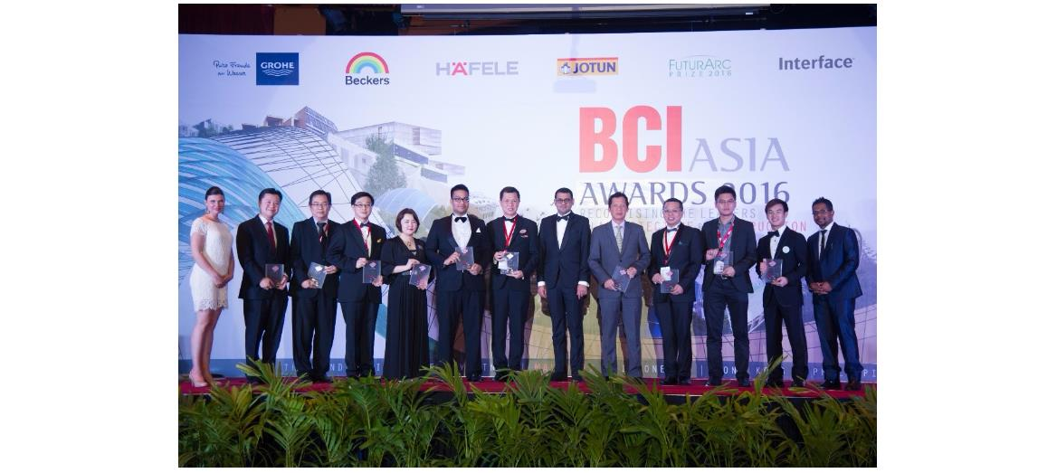 BCI Asia awards Malaysia's top 10 architecture firms and property developers