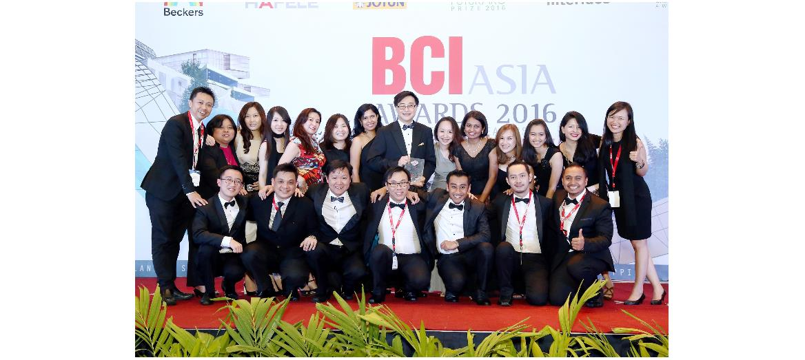 Sunway Berhad wins BCI Asia for the 6th consecutive time