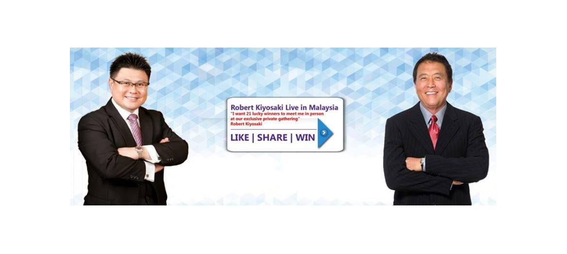 Andaman Property Group to give away 5 VIP tickets to Masters of Wealth 2015: LIVE with Robert Kiyosaki