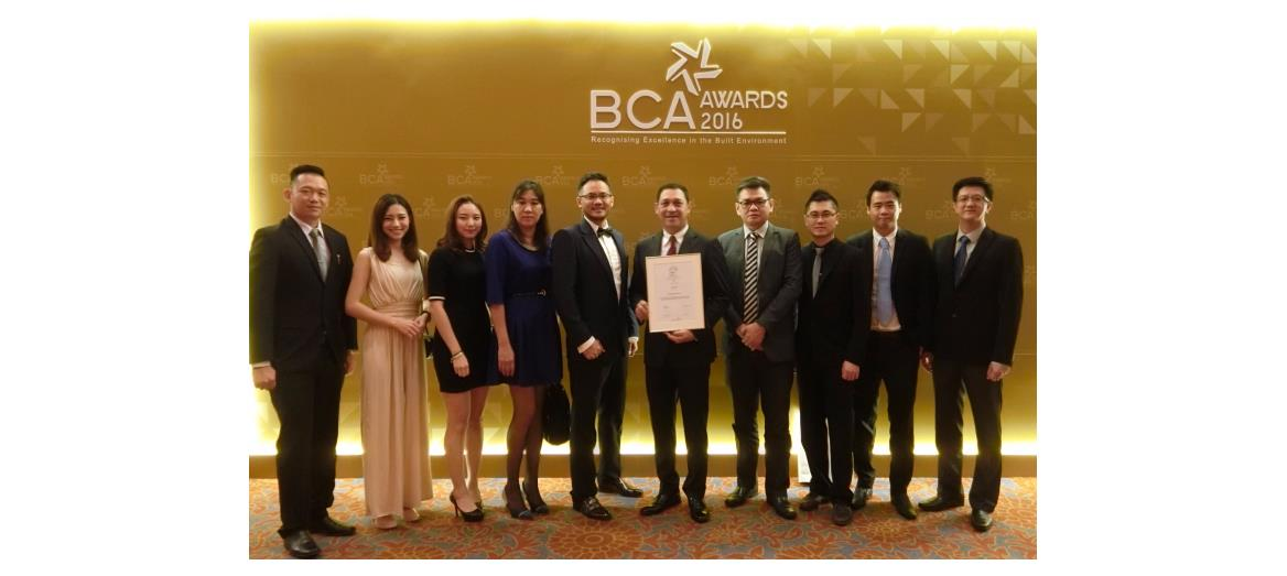 Mah Sing Group Berhad's Ferringhi Residence wins BCA Award