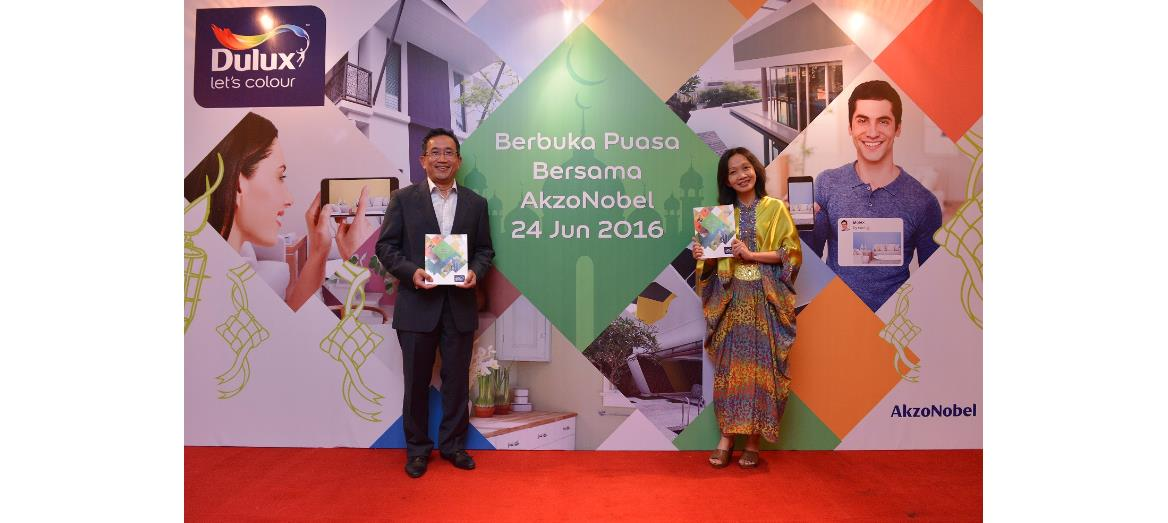 AkzoNobel launches new Dulux Visualizer 3.0 during its yearly Buka Puasa event
