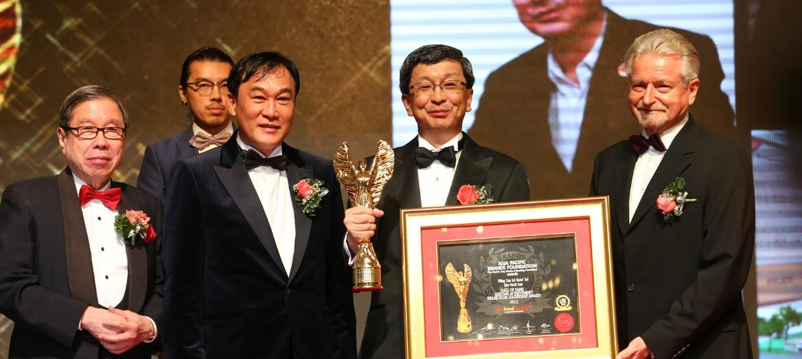 LBS Bina Group Bhd Managing Director conferred with The BrandLaureate Lifetime Achievement Award 2015