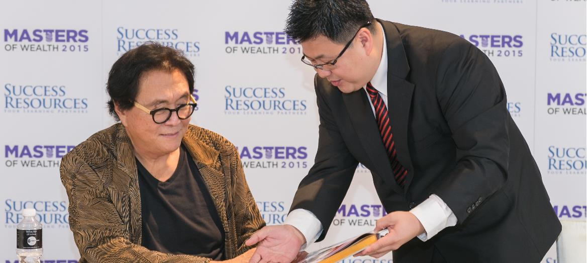 Andaman buyers Loyalty Reward Programme with Robert Kiyosaki Live in Malaysia