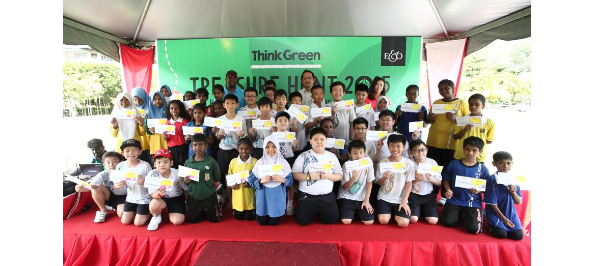Young explorers unearth hidden treasures at Straits Green Park, Penang