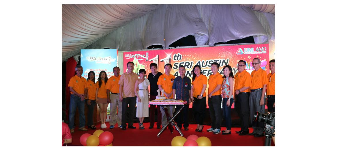 Seri Austin's 11th anniversary celebration  and opening for registration of Aster 2, double-storey semi-Ds