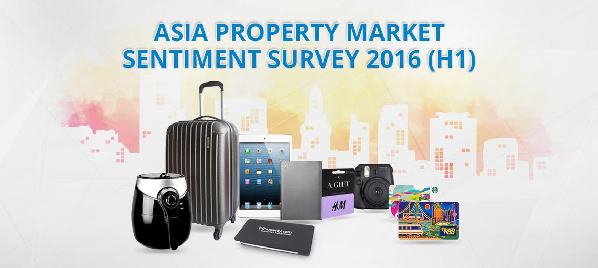 Asia Property Market Sentiment Survey 2016 (H1)