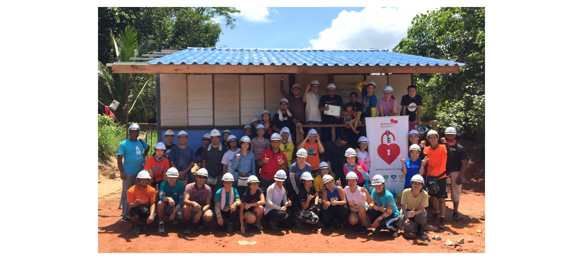 Team Mah Sing builds home for the underprivileged
