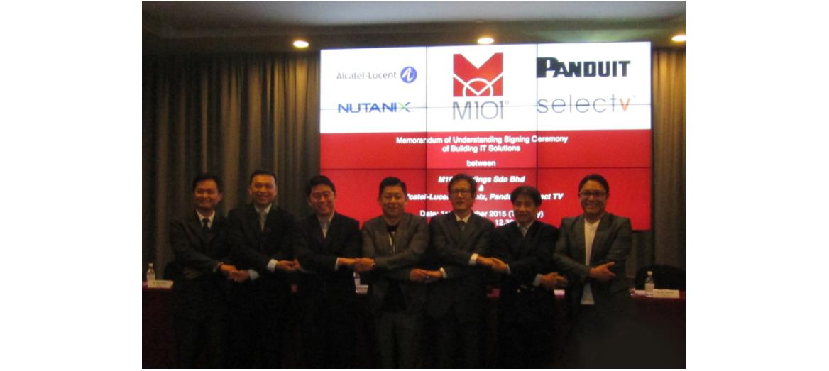 M101 Holdings Sdn Bhd signs MoU with four leading IT companies