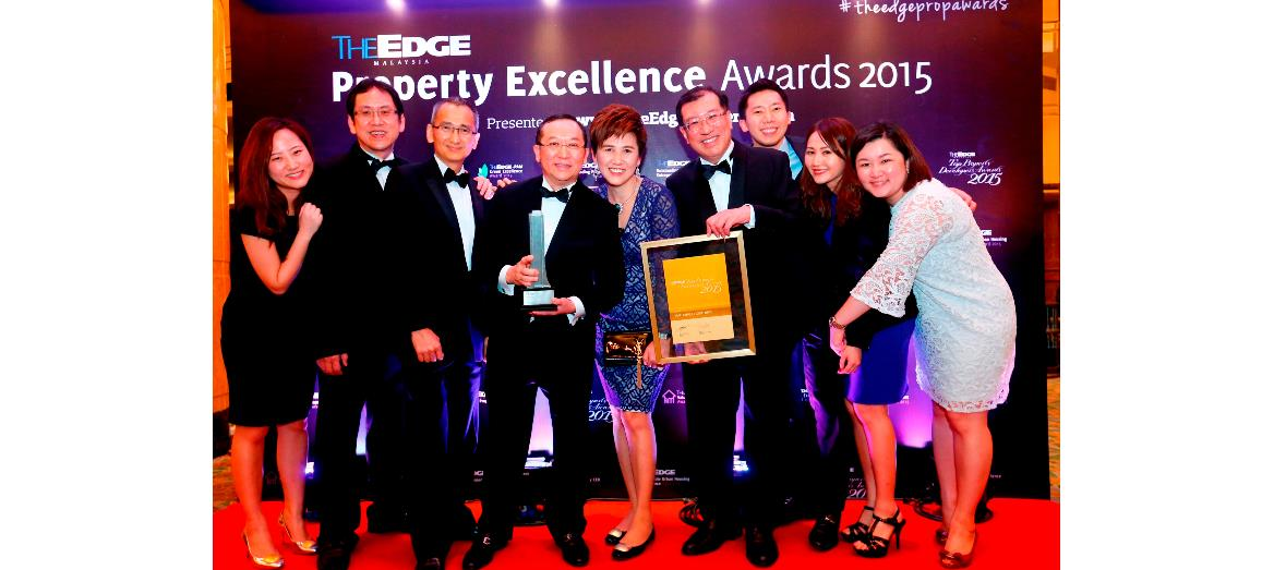 Mah Sing Group Bhd''s Managing Director awarded Outstanding Property Entrepreneur 2015; Company rank 5th at the Top Property Developers'' Awards 2015