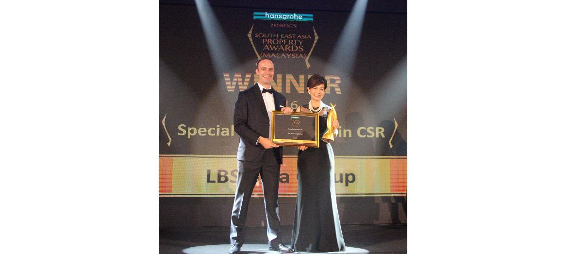LBS Bina Group bags two recognitions at  South East Asia Property Awards 2016