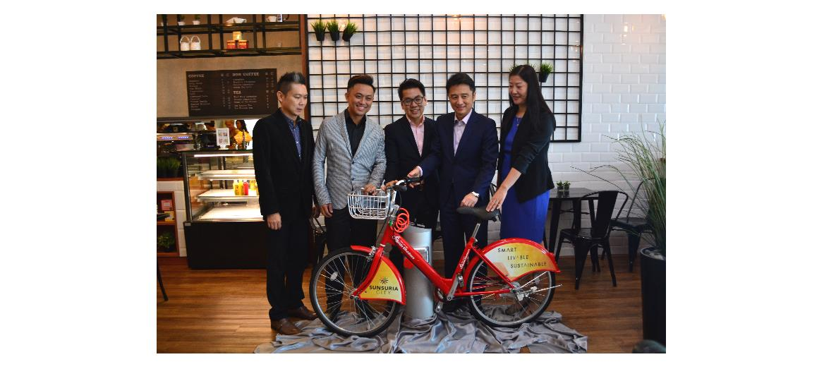 First community bicycle sharing programme in Sunsuria City