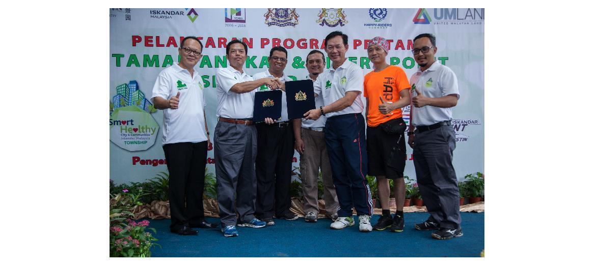 UMLand Seri Austin launches Iskandar Malaysia first Adopt-A-Park Program & Riders Point