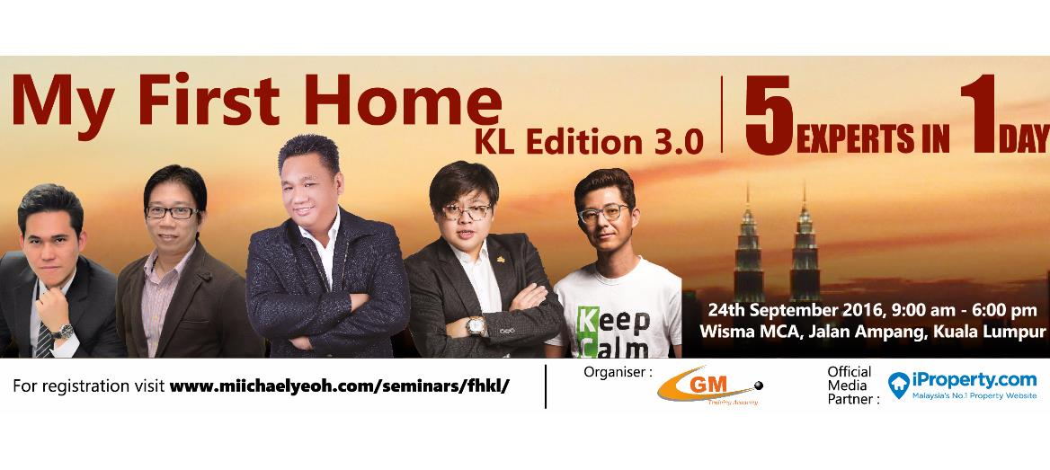 My First Home Convention KL Edition.