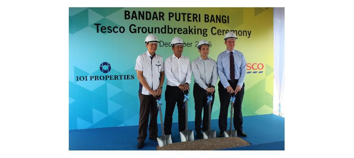 Tesco Bandar Puteri Bangi to open its doors by first quarter of 2017.