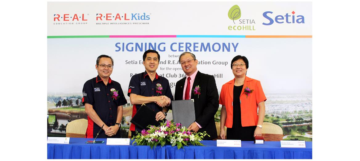 Setia Ecohill Sdn Bhd enhances its township with R.E.A.L Kids Education