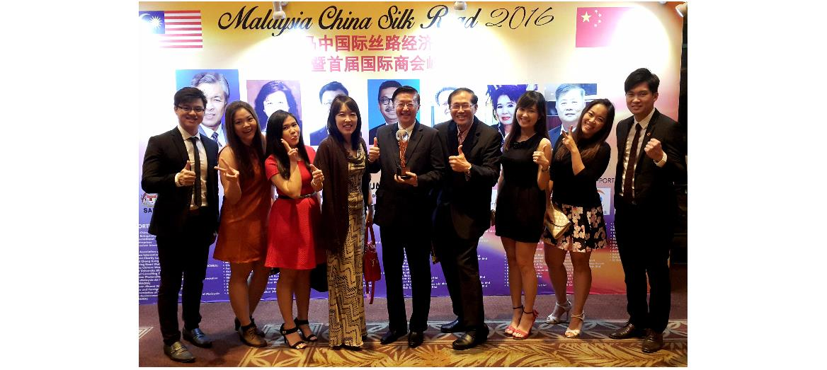 Mah Sing's Group Managing Director wins International Entrepreneur Excellence Award 2016