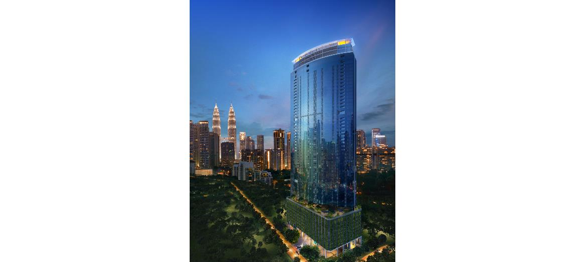 GSH Corp launches Eaton Residences, an iconic luxury condominium with the first cantilevered sky pool in Kuala Lumpur's city centre