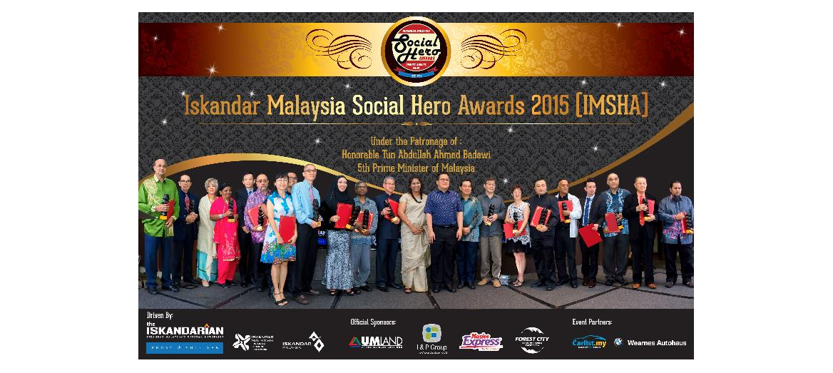Iskandar Malaysia Social Hero Awards 2015 celebrate community work heroes