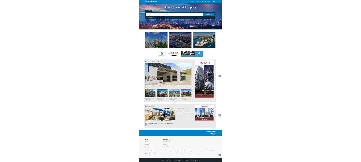iProperty Group launches CommercialAsia, a dedicated one-stop commercial property portal