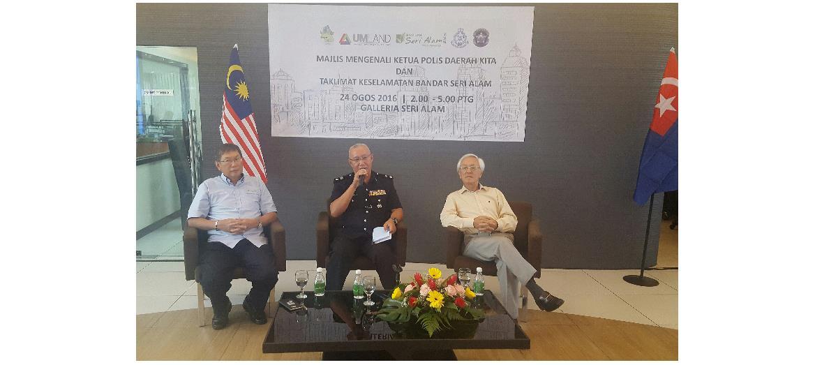 Seri Alam Properties Sdn Bhd Strives To Strengthen Security In Bandar Seri Alam