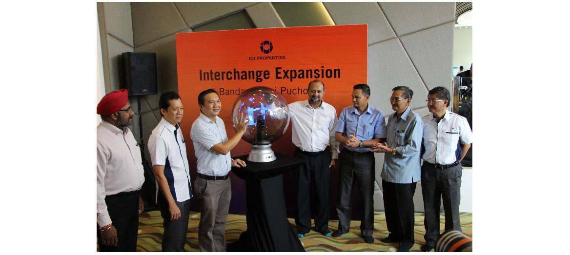 RM20 Million Interchange Expansion At Bandar Puteri Puchong