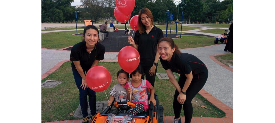 Gamuda Land fetes public with cupcakes & balloons as it turns 40
