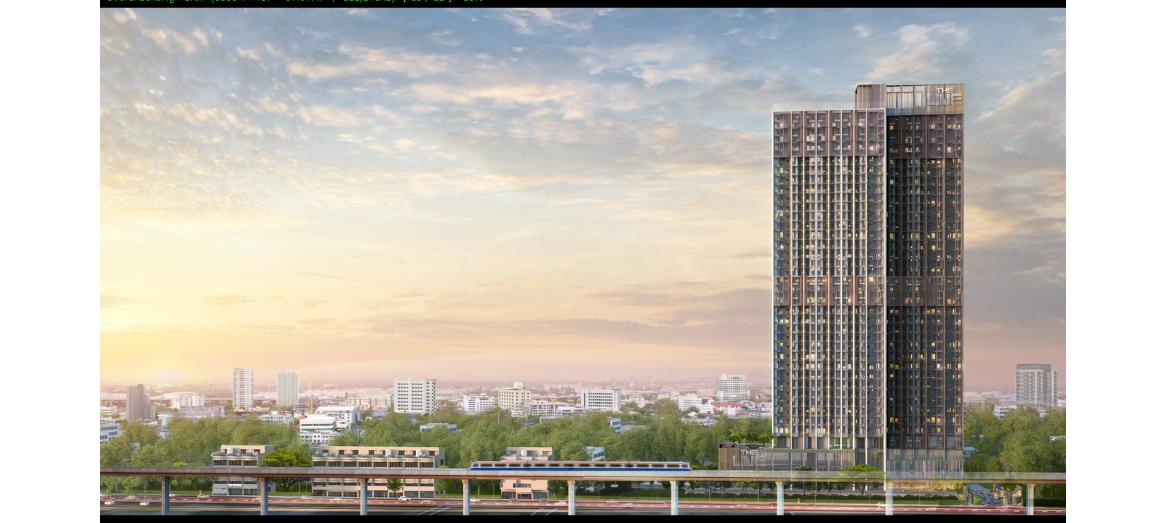 Sansiri-BTS to unveil THE LINE Sukhumvit 101: A freedom-inspired condominium in Bangkok's new commercial district