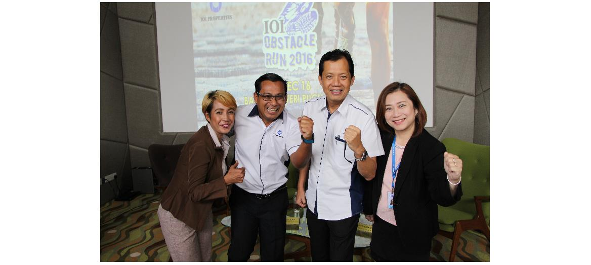 IOI Properties to organize Obstacle Run 2016