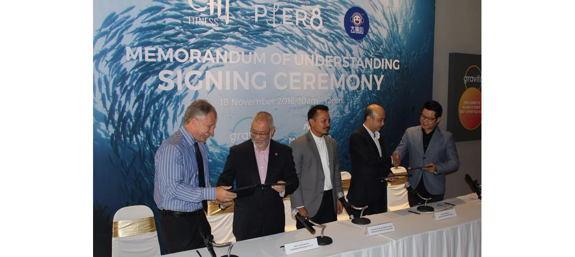 Chi Fitness and Loudspeaker ink MoU with Mitraland's Pier 8
