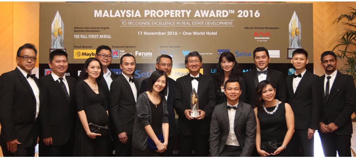 "IOI City Mall wins prestigious FIABCI-Malaysia Award ""Retail Category 2016"""