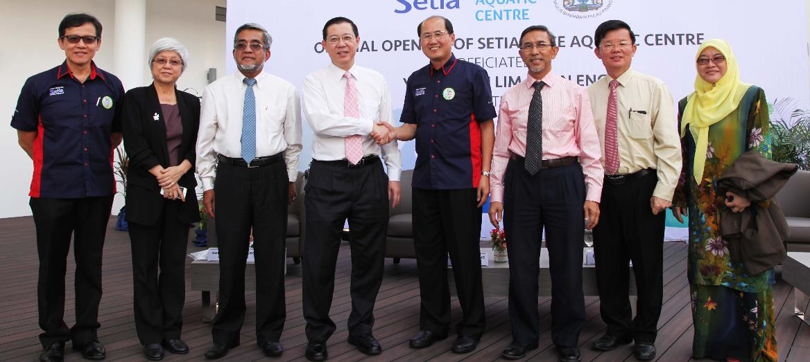 Setia Spice Aquatic Centre officially opens