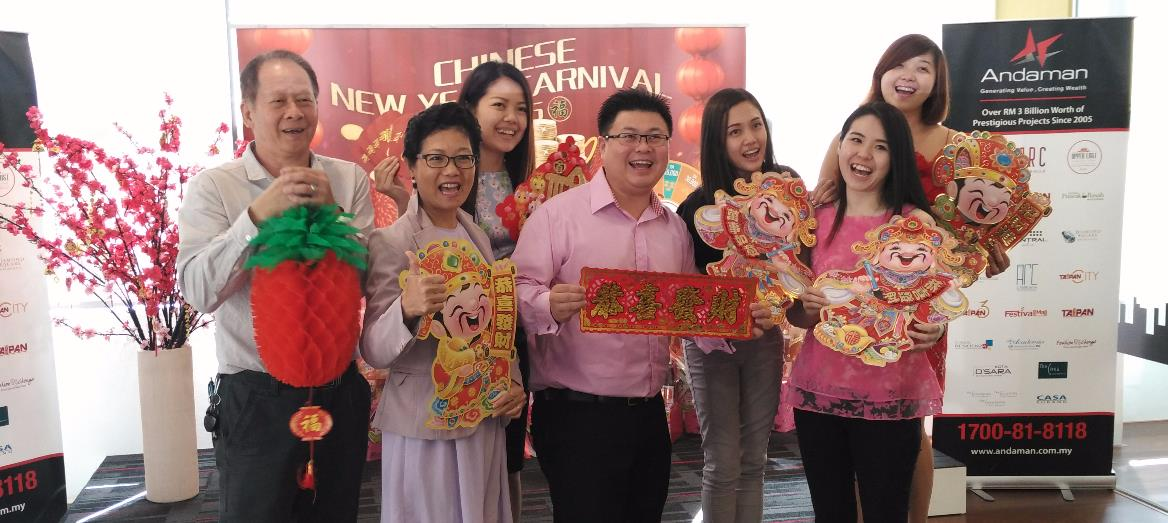 Giddy up into Upper East CNY Carnival by Andaman Group Bhd in Ipoh