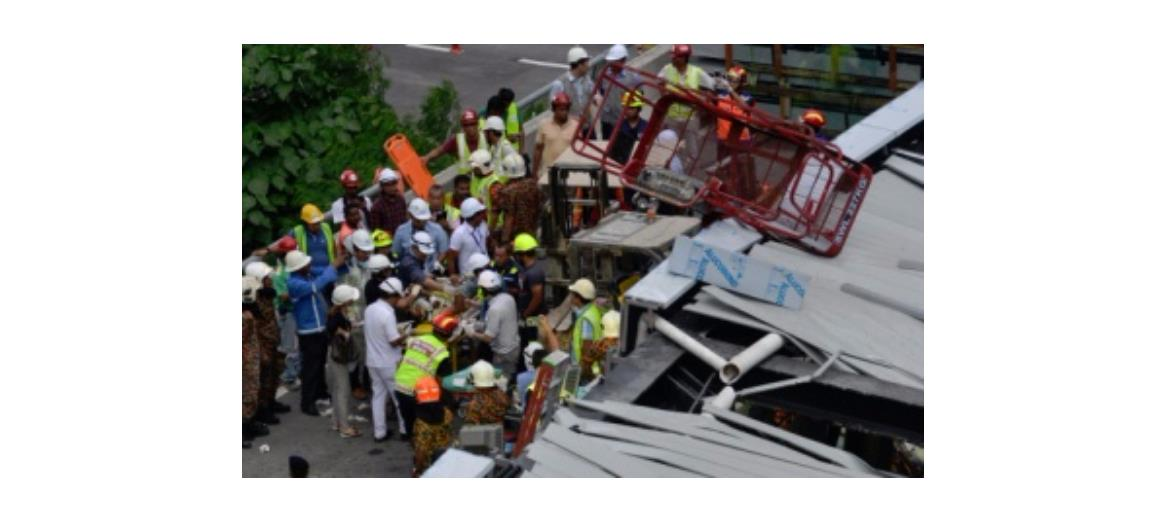 Developer working closely with authorities to investigate cause of bridge collapse