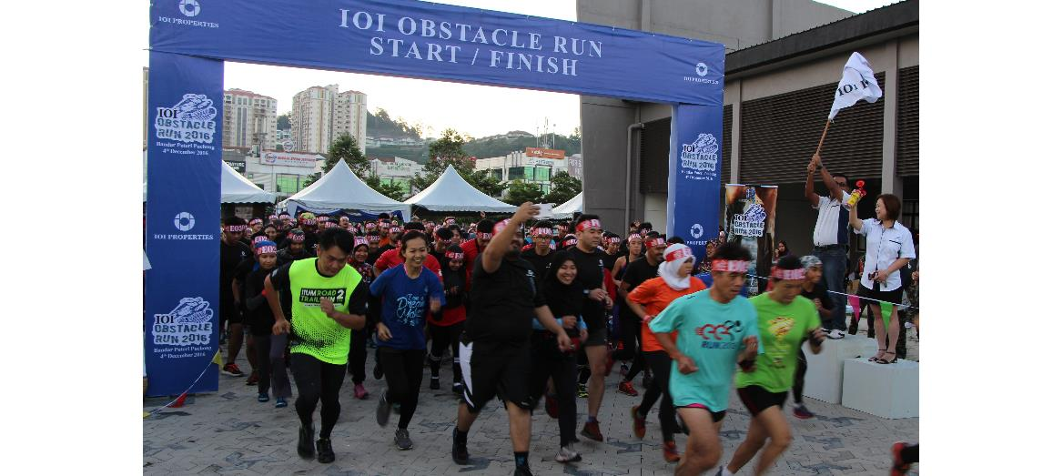 IOI Obstacle Run 2016 - Experiencing the outdoors