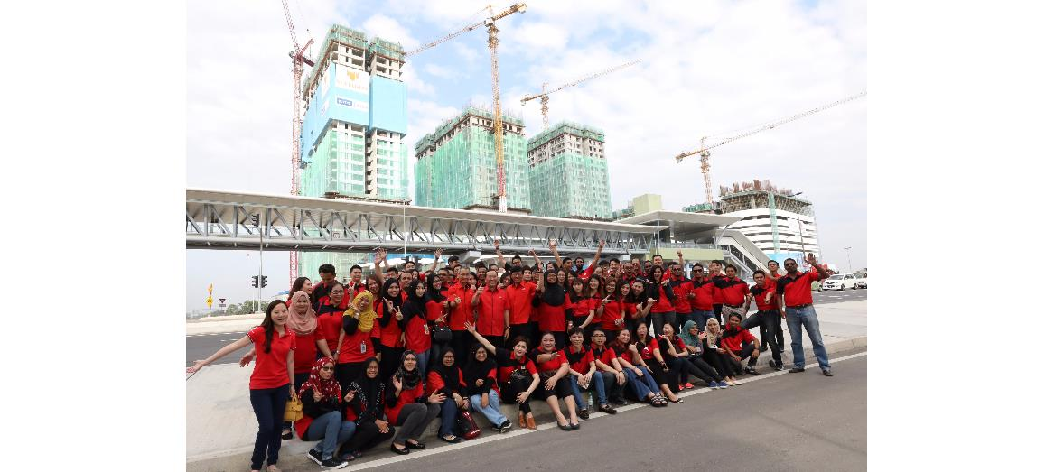 Mah Sing celebrates commencement of MRT Line 1 with #161216 D'sara MRT Hunt