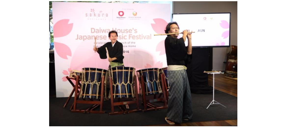 Renowned Japanese duo AUN enthrall at Daiwa House's Japanese Music Festival