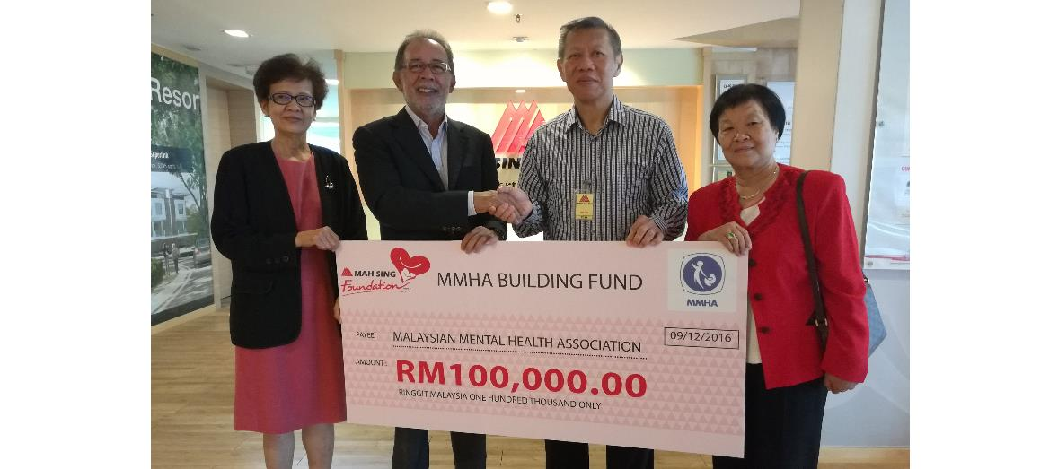 Mah Sing lends a helping hand in the expansion of psychosocial rehab centre