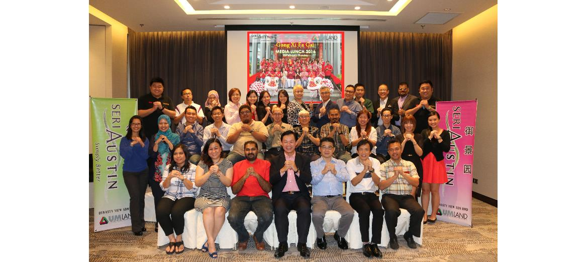 UMLand Seri Austin hosts Chinese New Year Media Lunch 2016