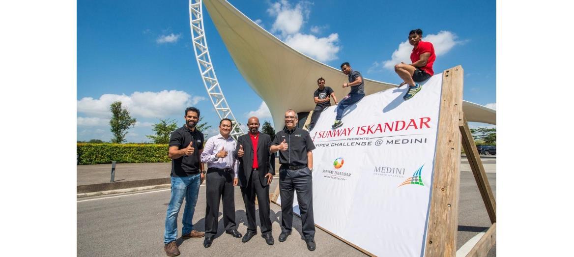 Sunway Property unveils Sunway Iskandar Viper Challenge @ Medini
