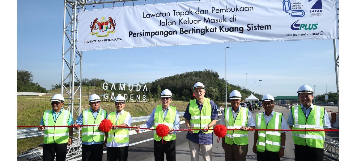 Direct connectivity to Gamuda Gardens with new access road