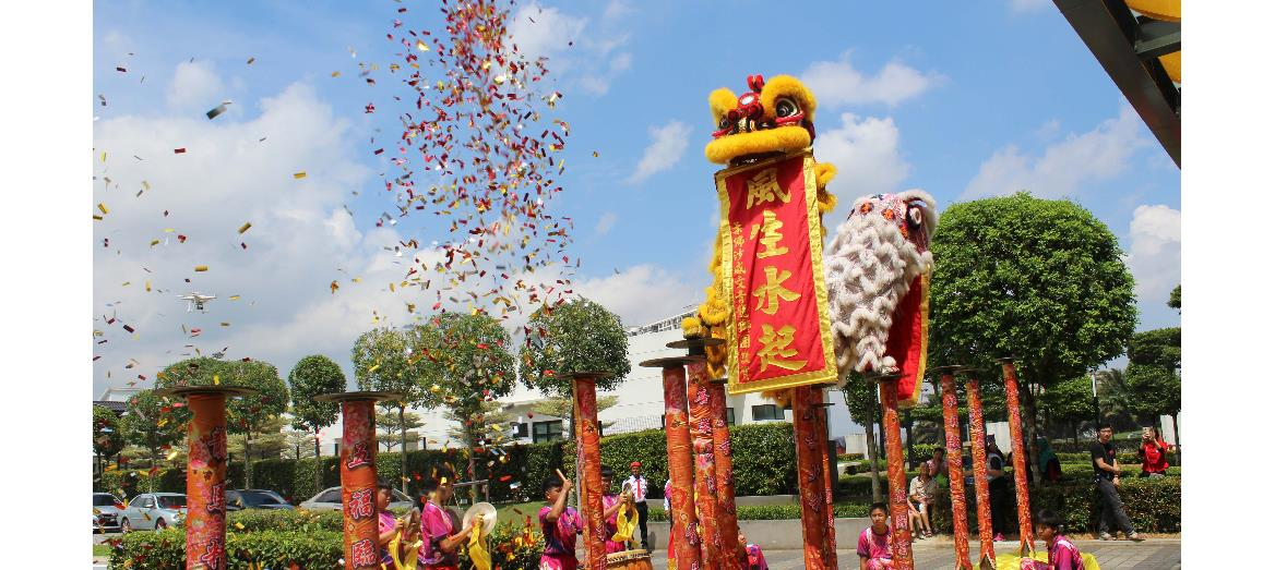 Setia's perfect reunion CNY 2017 celebration continues down south in Setia Tropika Welcome Centre, Johor