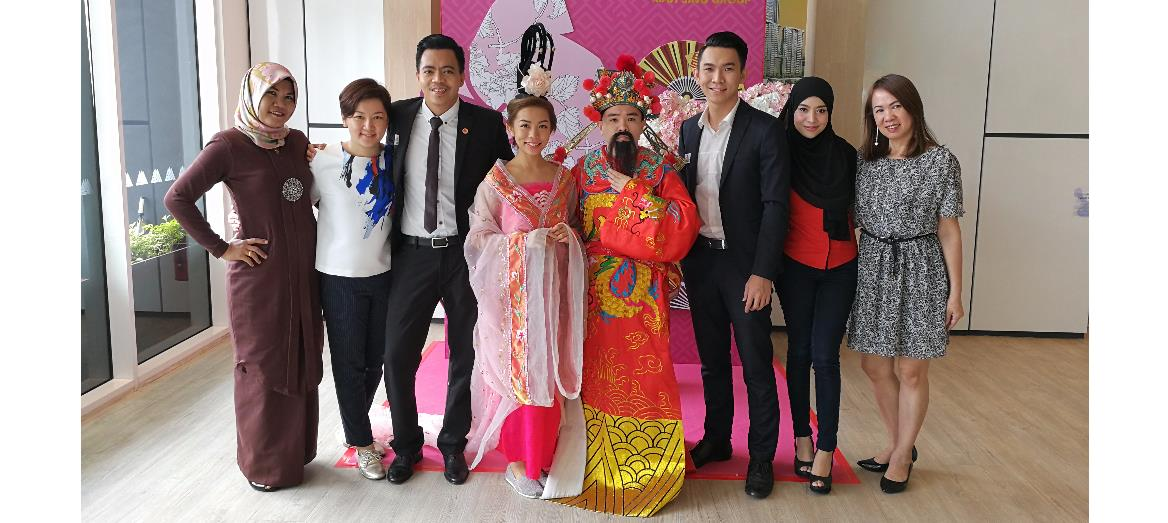 Mah Sing Celebrating CNY in Sales Galleries Throughout Malaysia